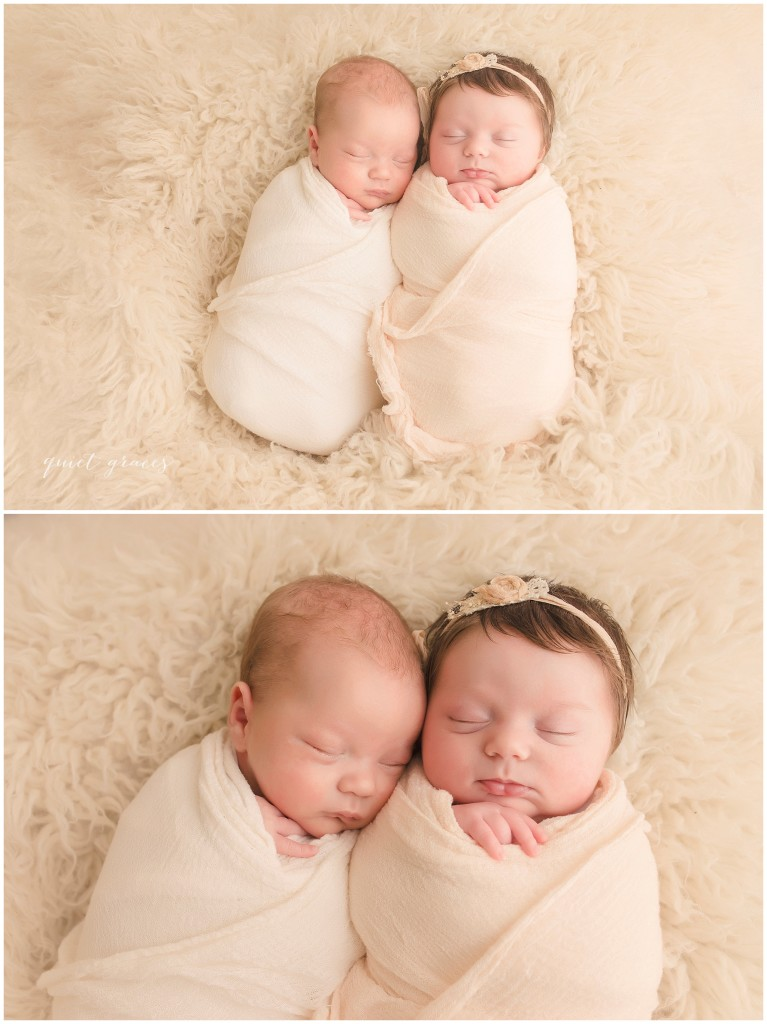 Greer SC Baby Twins Photography