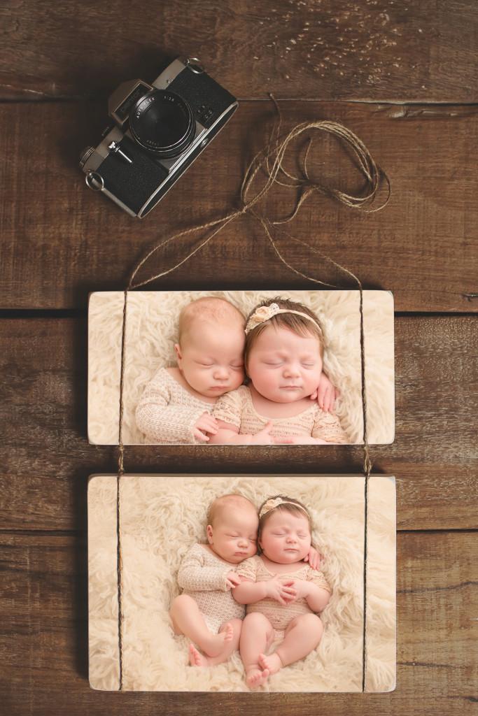 Newborn Twin Photographer Greenville SC