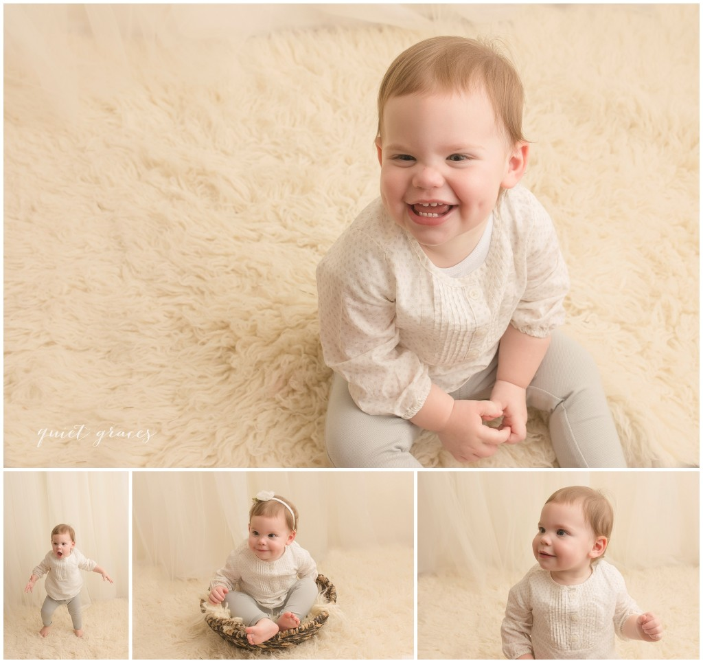 Two year old studio pictures