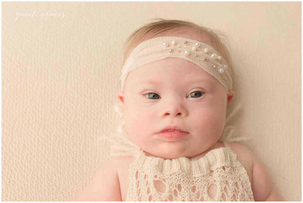 Baby Girl with Down Syndrome Photographer Greenville SC