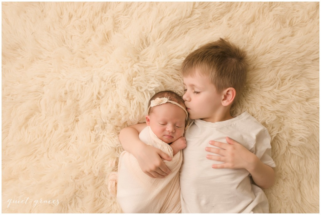 Newborn Baby with Brother Greer SC