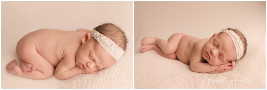 Sleeping Newborn Baby Pictures Greer SC