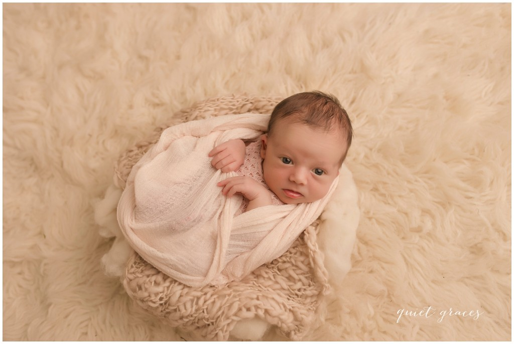 Awake Baby Girl Pictures Greenville SC