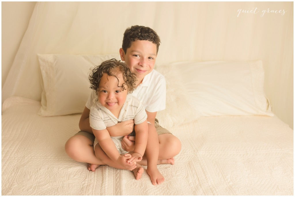 will big siblings love a child with down syndrome