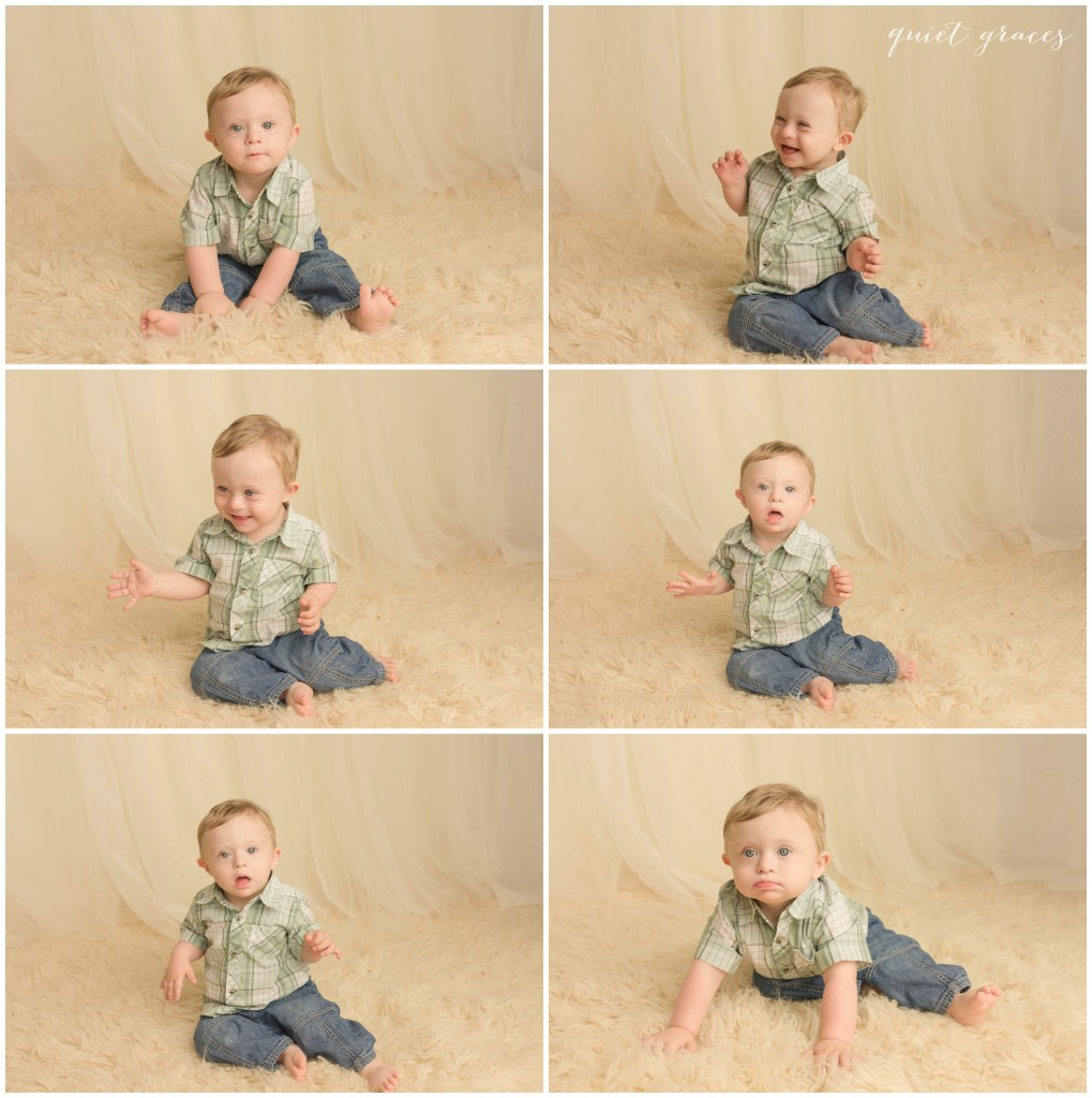 Greenville SC one year old photographer