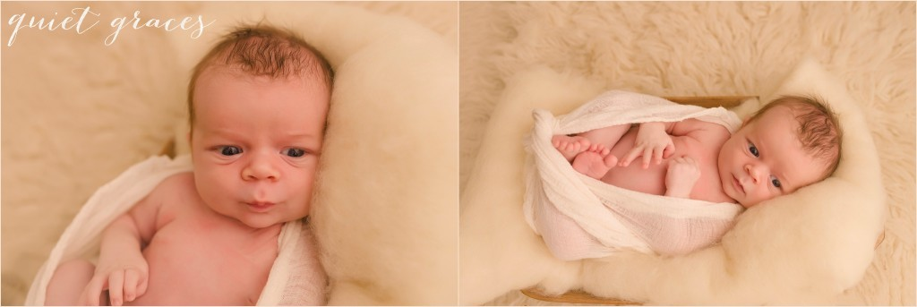 Sweet Pictures of an older newborn in Simpsonville SC