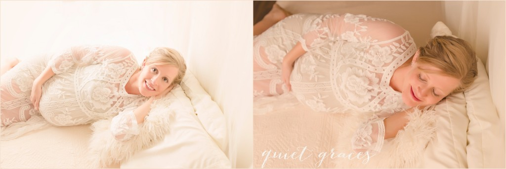 Maternity Pictures Bed Studio Greer SC