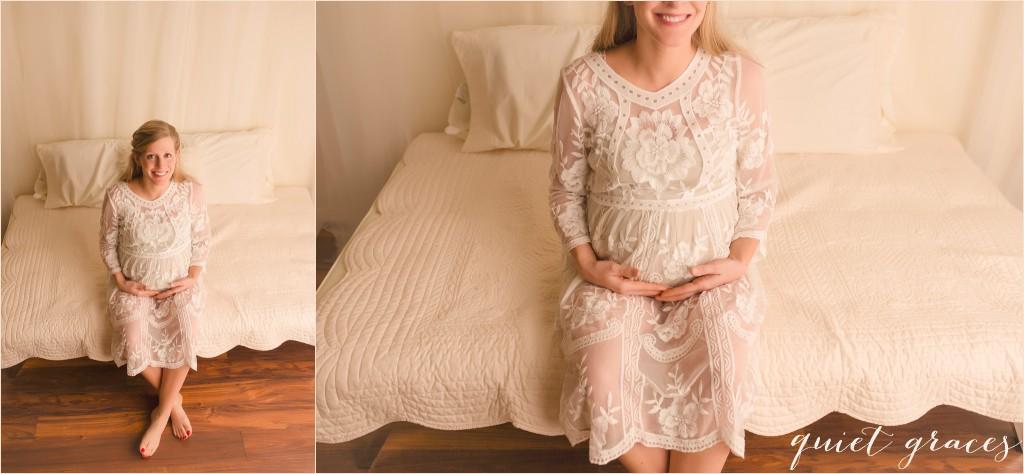 Studio Maternity Photographer Greenville SC