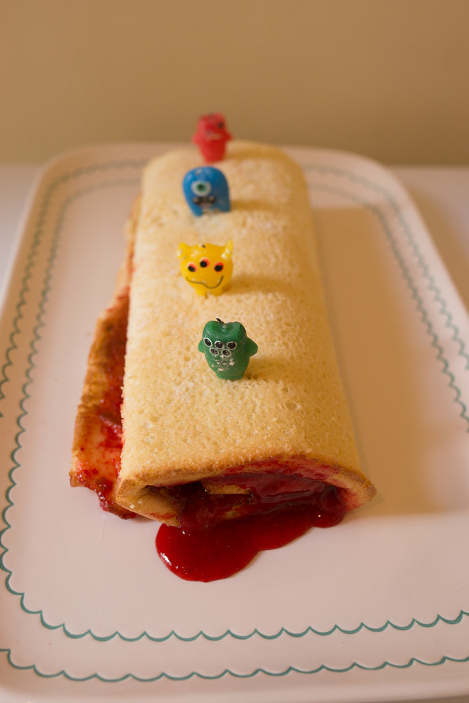 Cherry Pie Jelly Roll Recipe