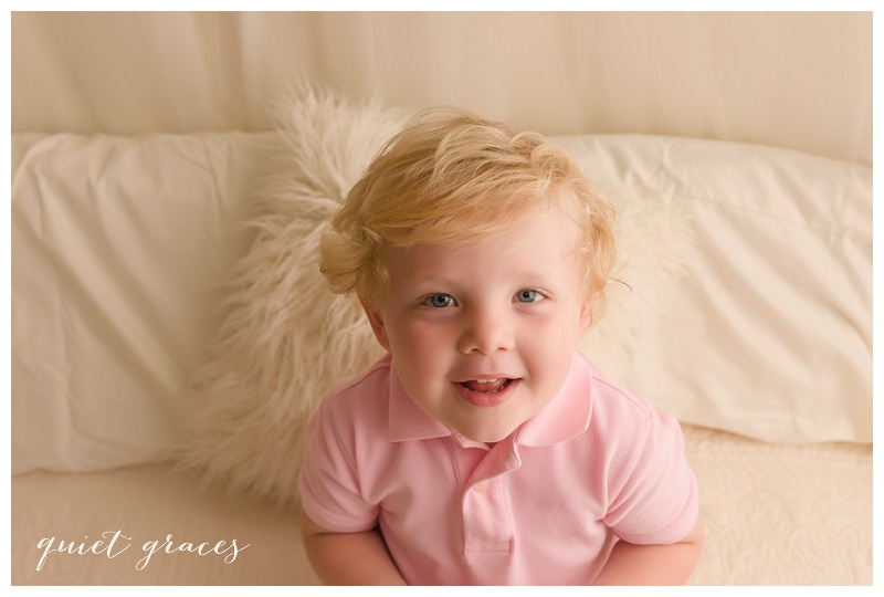 Studio Child Photographer Greenville SC
