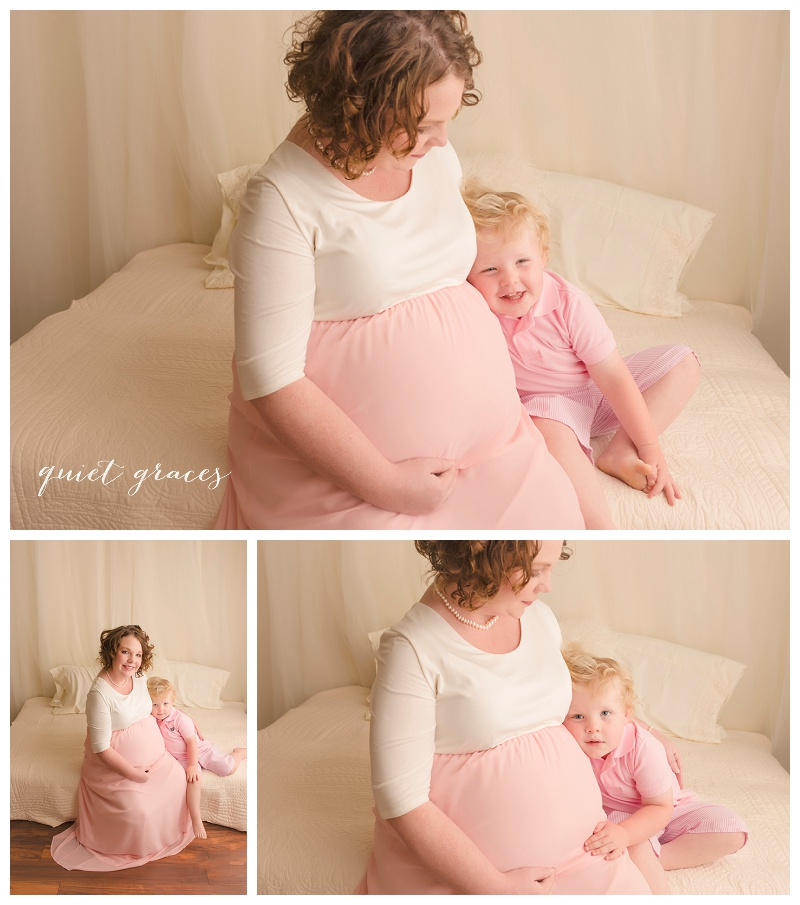 Mommy and Child Maternity Pictures Greenville SC