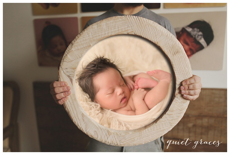 Newborn Pictures Greenville SC : Baby Zane - Natural
