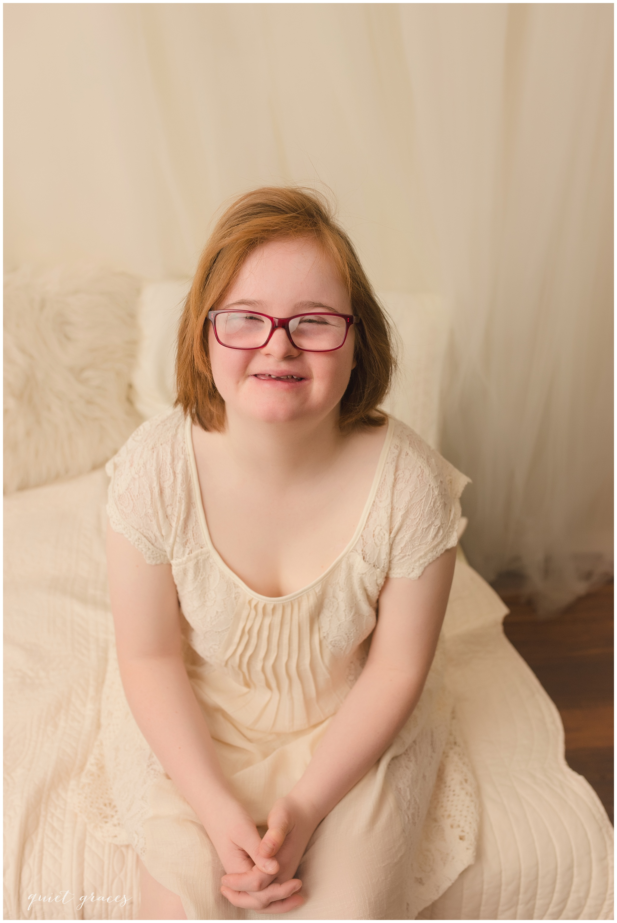 Young Adult with Down Syndrome