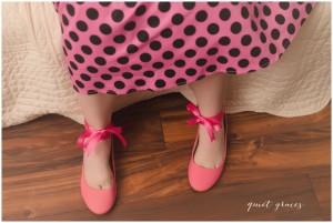 Pink Ballerina Flats