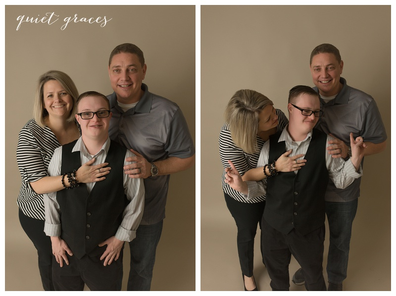 Family with a Child With Down Syndrome