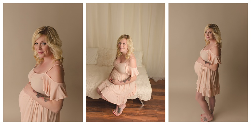 Simpsonville Studio Maternity Photographer