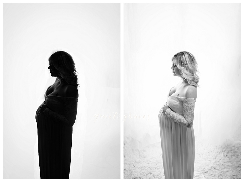 Greenville SC silhouette Maternity Pictures