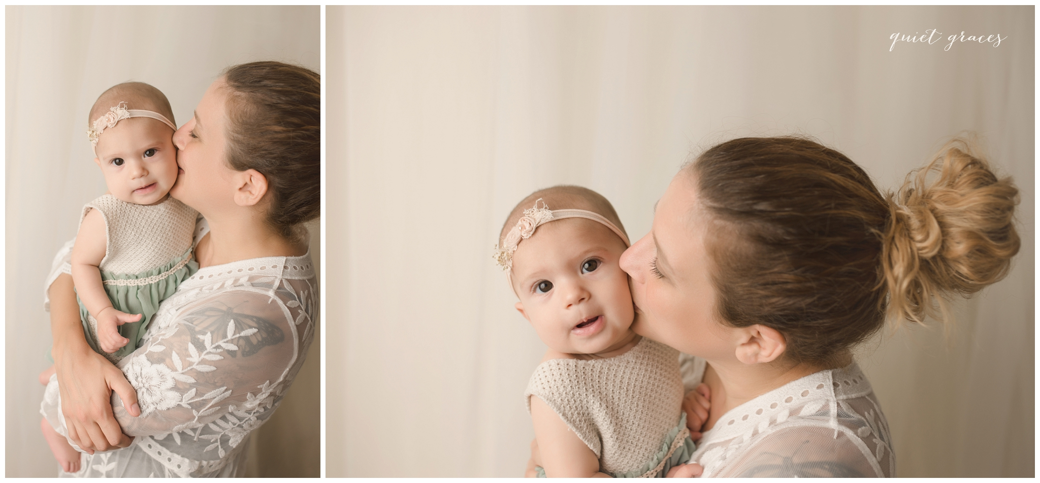 6 month baby with mommy pictures Greenville SC