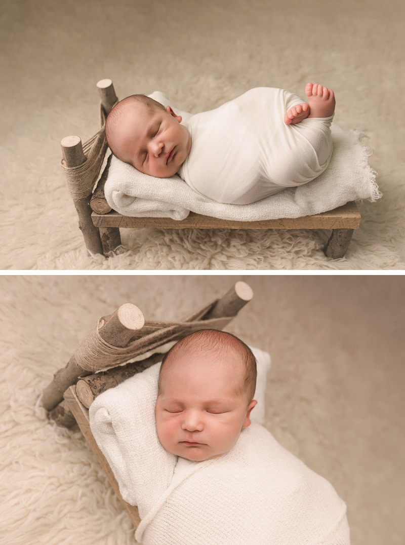 Simpsonville SC Natural Newborn Photos:
