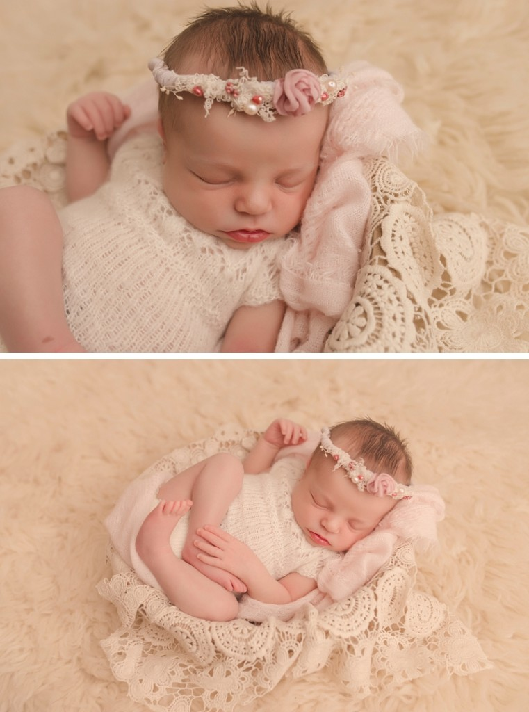 Simpsonville Studio Newborn Photos