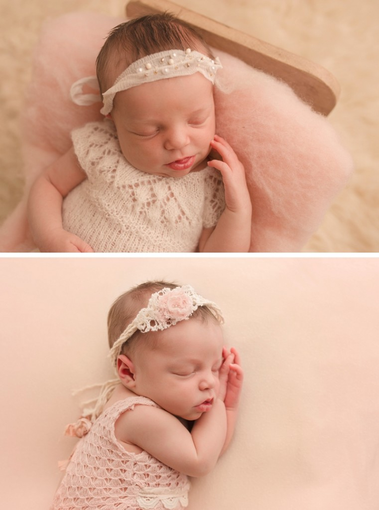 Newborn Baby sleeping in a Bed Greer SC