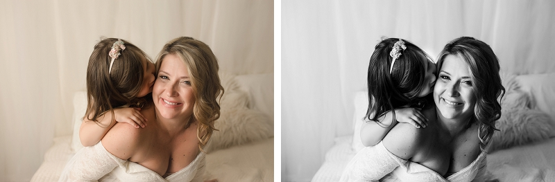 Greenville SC Maternity photos with wardrobe hair and makeup