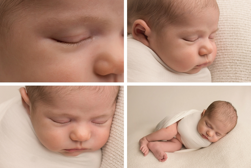 Greenville SC Swaddled Newborn Pictures