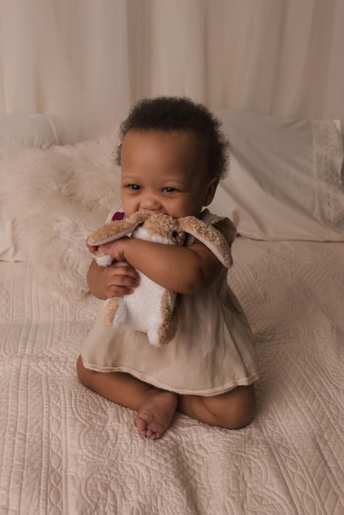 Baby with a Velveteen Rabbit