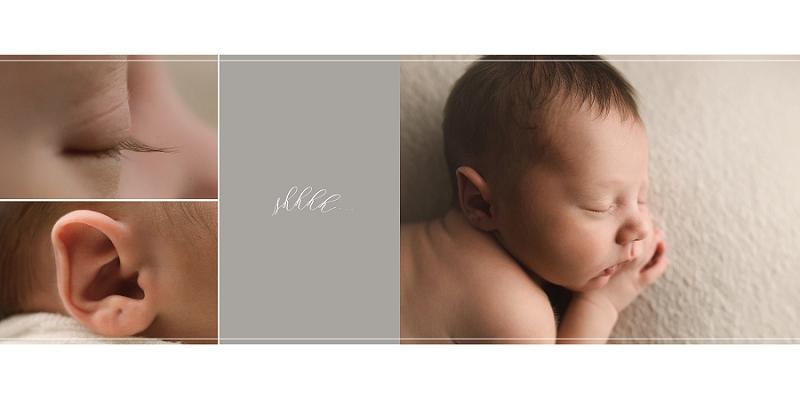 Natural Simple Newborn Photos Greer SC