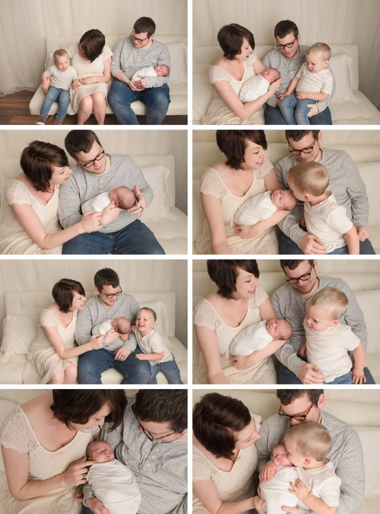 Greenville SC Newborn Baby Family Pictures