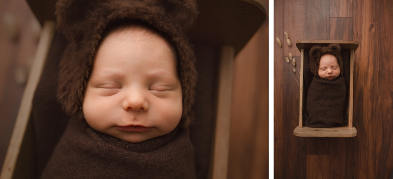 Greer SC Baby in a Bear hat pictures