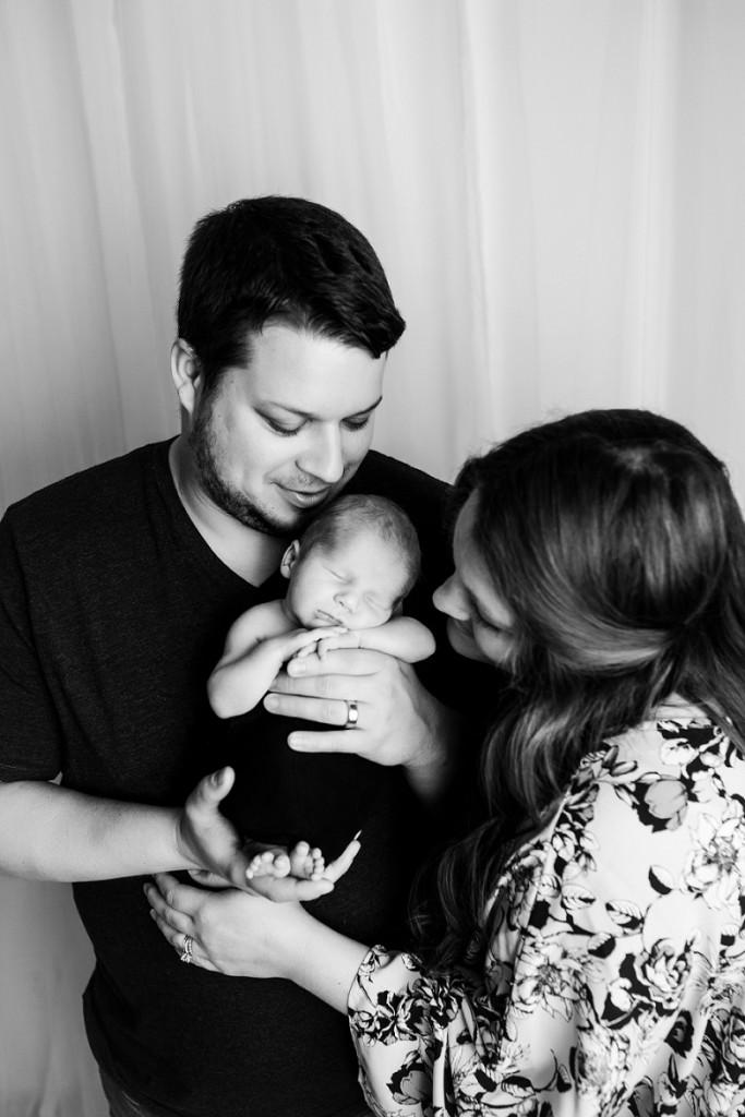Greer SC Newborn Baby Studio Pictures