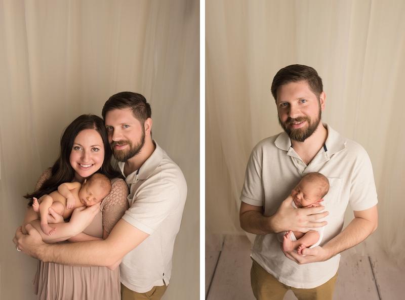 Natural simple Newborn pictures Greer SC