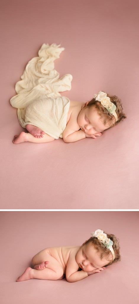 Simple Beautiful Timeless Newborn Baby Girl Photos Simpsonville SC