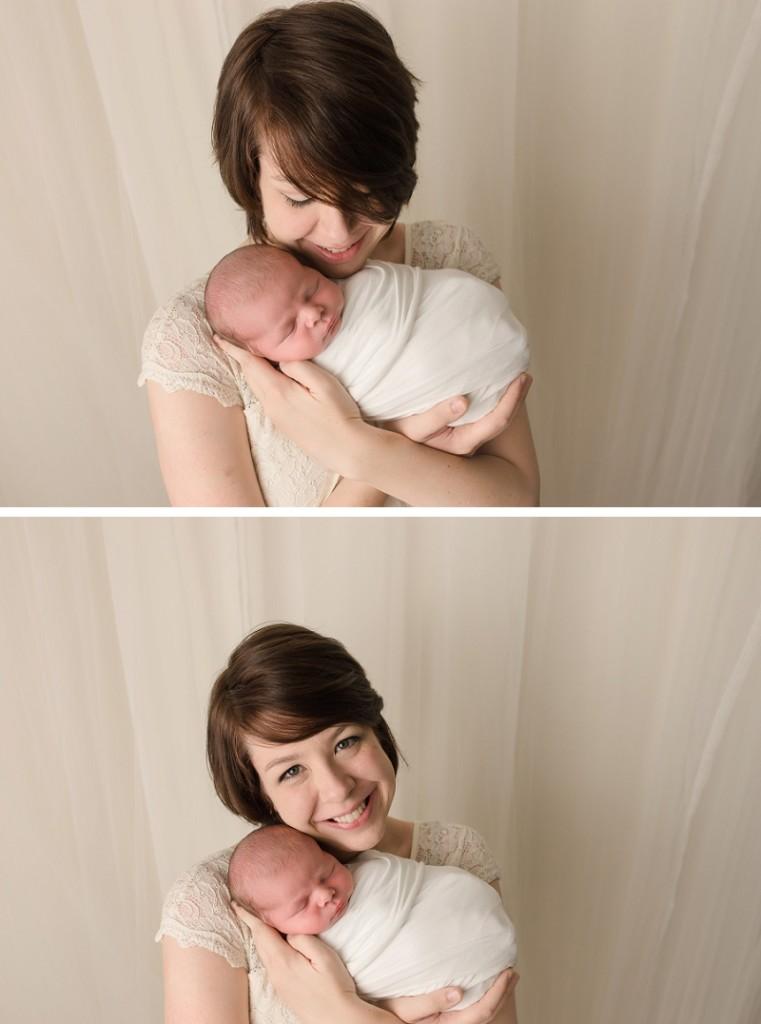 Simple Greenville Newborn Photography