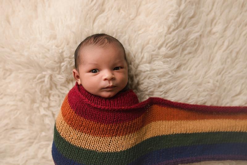 Timeless Newborn Rainbow Baby Photography Greenville SC