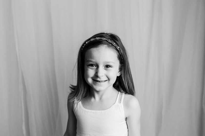 Best Black and White Studio Pictures of Children Greenville SC