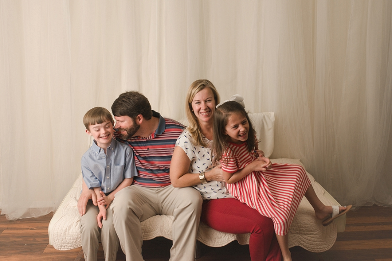 Mini Family Studio Portraits Greenville SC