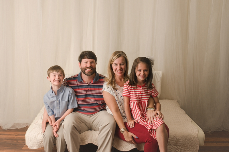 Mini Family Studio Portraits Simpsonville SC