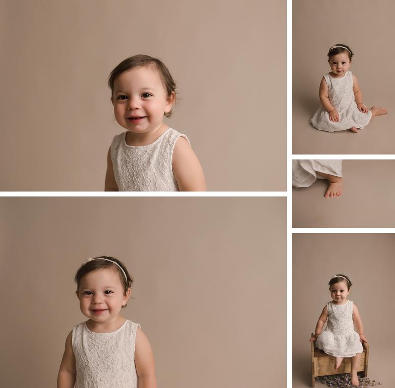 18 Month old baby Studio Photographer Simpsonville SC