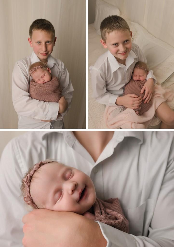 Delicate Timeless Newborn Girl Photography Greer SC