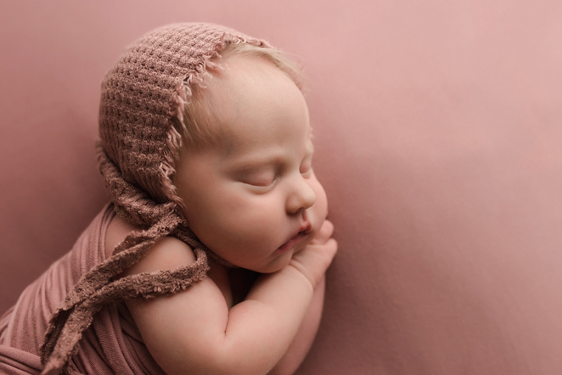 Delicate Timeless Newborn Girl Photos Simpsonville SC
