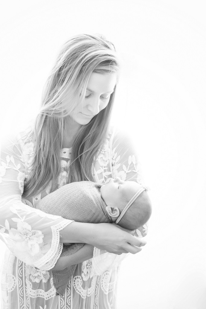 Mommy and Me Newborn Photographer Greenville SC