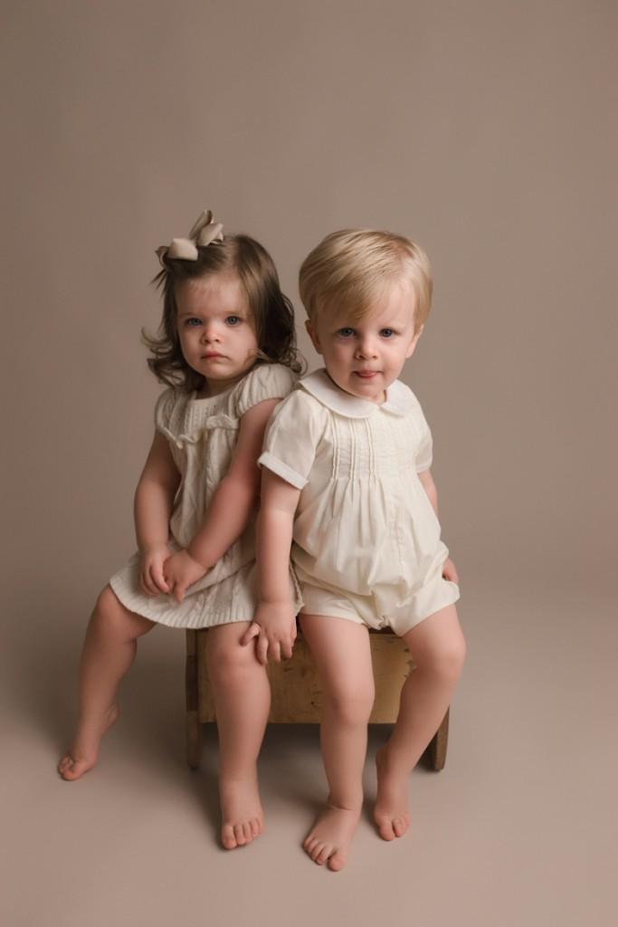 Natural Studio Baby Plan Photographer Greenville SC