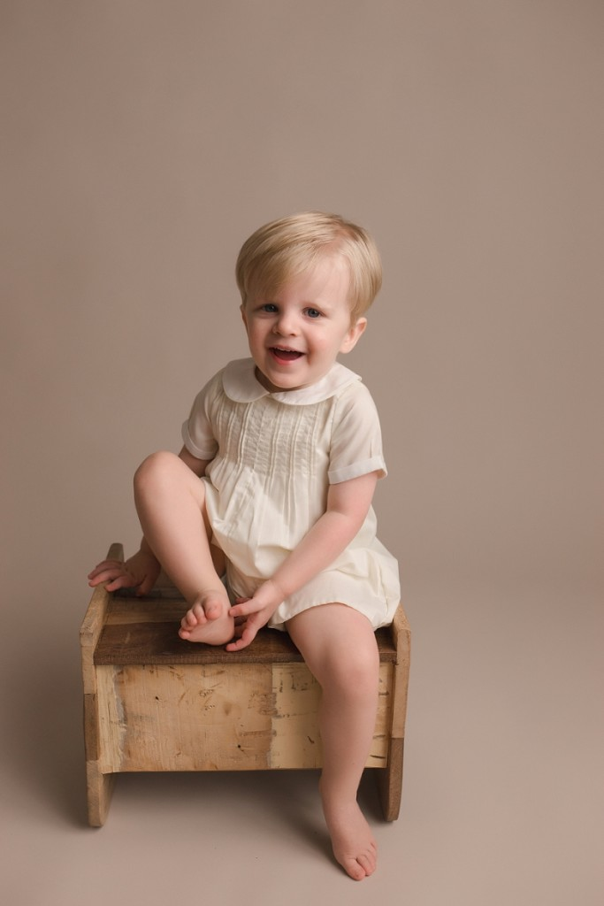 Natural Studio Baby Plan Photographer Simpsonville SC