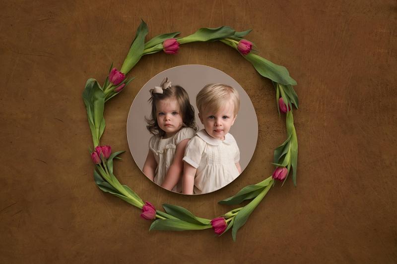 Timeless Studio Baby Plan Photographer Greenville SC