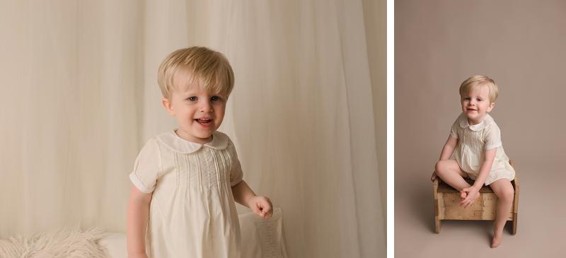 Timeless Studio Baby Plan Photographer Greer SC