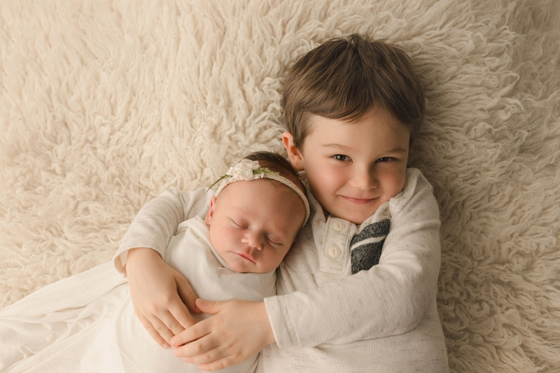 Newborn and Sibling Photography Greenville SC