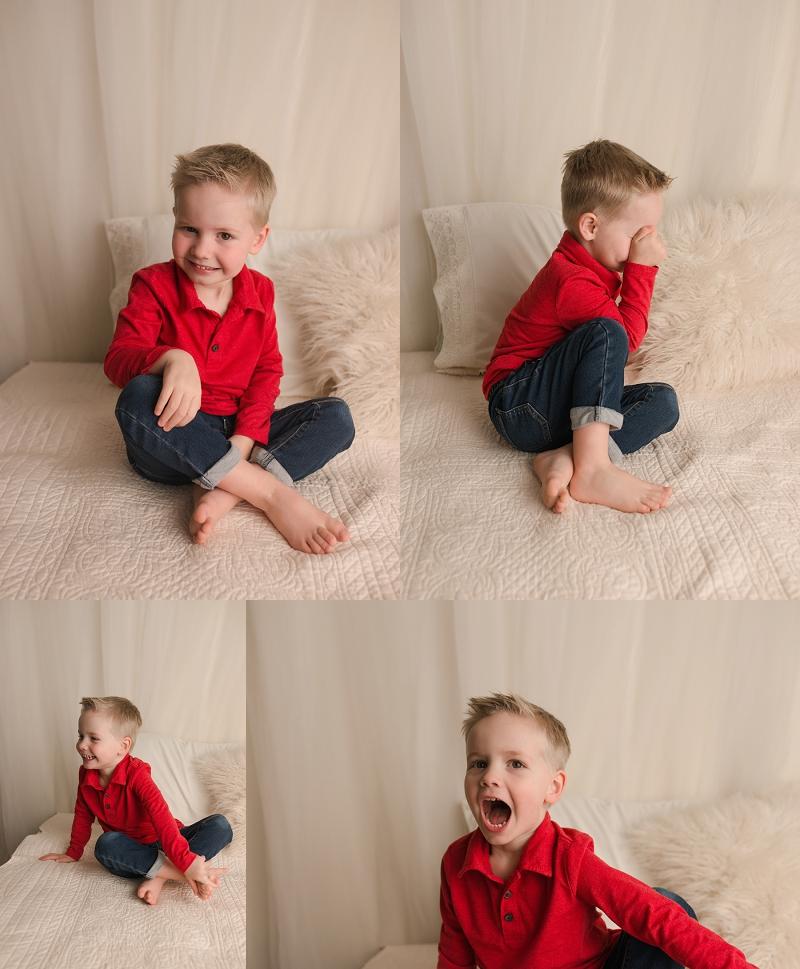 Greenville SC Child Studio Portraits Fun Timeless