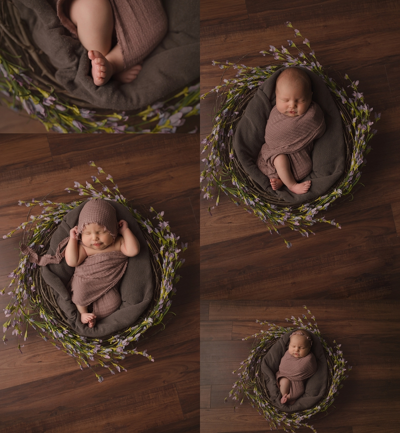 Emotional Simple Newborn Photos Simpsonville SC
